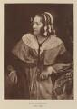 Anna Brownell Jameson, after David Octavius Hill, and  Robert Adamson - NPG Ax29504