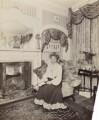 Mrs W. Desmond Humphreys (Eliza Margaret Jane Humphreys, née Gollan), by Frederic G. Hodsoll - NPG Ax29608