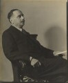 H.G. Wells, by Howard Coster - NPG Ax3515