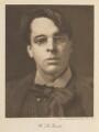 W.B. Yeats, by Alvin Langdon Coburn - NPG Ax35903