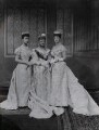 Princess Louise, Duchess of Fife; Louise, Queen of Denmark; Queen Alexandra, by Lafayette (Lafayette Ltd) - NPG Ax36415
