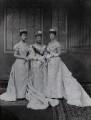Princess Louise, Duchess of Fife; Louise, Queen of Denmark; Queen Alexandra, by Lafayette - NPG Ax36415