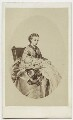 Prince Albert Victor, Duke of Clarence; Queen Alexandra, by Basebe & Son, after  Unknown engraver - NPG Ax38288