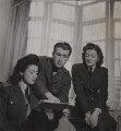 Pauline Growse; Bob Roberts; Sarah Churchill, by Francis Goodman - NPG Ax39591