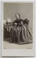 Harriet Beecher Stowe, by William Notman - NPG Ax39822