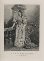 Princess Louise, Duchess of Connaught (née Princess of Prussia) as Anne of Austria, by Lafayette (Lafayette Ltd), photogravure by  Walker & Boutall - NPG Ax41008