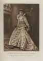 Princess Helena Victoria of Schleswig-Holstein as Princess Elizabeth, eldest daughter of James I, by Alfred Ellis, photogravure by  Walker & Boutall - NPG Ax41013