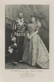 Michael Mikhailovich, Grand Duke of Russia as Henri IV and Sophia Nicholaievna, Countess de Torby as Gabrielle d'Estray, by Lafayette (Lafayette Ltd), photogravure by  Walker & Boutall - NPG Ax41015