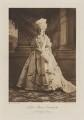 Lady Moyra de Vere Cavendish (née Beauclerk) as Countess Lazan, by Gunn & Stuart, photogravure by  Walker & Boutall - NPG Ax41062