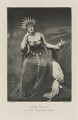 Mary Emmeline Laura (née Milner), Lady Gerard as Astarte, Goddess of the Moon, by Mendelssohn, photogravure by  Walker & Boutall - NPG Ax41092
