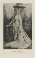 Mabel Edith (née Hood), Lady Ashburton as Enid in Tennyson's 'King Arthur', by Lafayette (Lafayette Ltd), photogravure by  Walker & Boutall - NPG Ax41135