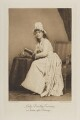 Lady Dorothy Fraser (née Coventry) as Serena after Romney, by Elliott & Fry, photogravure by  Walker & Boutall - NPG Ax41143
