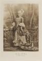 Eleanor Frances Weston (née Van de Weyer), Viscountess Esher when Hon. Mrs Brett as Manon Lescaut, by Lafayette (Lafayette Ltd), photogravure by  Walker & Boutall - NPG Ax41188