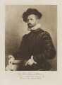 Sir Seymour John Fortescue as a Venetian Lawyer, after the picture by Moroni in the National Gallery, by Unknown artist, photogravure by  Walker & Boutall - NPG Ax41195