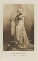 Jeanette ('Jennie') Churchill (née Jerome), Lady Randolph Churchill as the Empress Theodora, wife of Justinian, by Lafayette, photogravure by  Walker & Boutall - NPG Ax41203