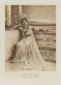Adela (née Grant), Countess of Essex as Berenice, Queen of Palestine, by Henry Bullingham, photogravure by  Walker & Boutall - NPG Ax41208