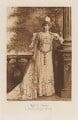 Miss B. Forbes as Donna Lucrezia Arcalla, by Lafayette (Lafayette Ltd), photogravure by  Walker & Boutall - NPG Ax41234