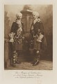John George Stewart-Murray, 8th Duke of Atholl when Marquess of Tullibardine and Lord George Stewart-Murray as two Highland gentlemen, A.D. 1745, by Lafayette (Lafayette Ltd), photogravure by  Walker & Boutall - NPG Ax41268