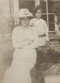 Sylvia Jocelyn Llewelyn Davies (née Du Maurier); George Llewelyn Davies, copy by Lizzie Caswall Smith, after  Sir James Matthew ('J.M.') Barrie, Bt - NPG Ax45622