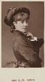 Ellen ('Nellie') Farren, by Unknown photographer, published by  Hardwicke & Bogue - NPG Ax45747