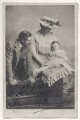 Robert Henry Kennerley-Rumford and Dame Clara Ellen Butt with their son, by Rotary Photographic Co Ltd - NPG Ax45844