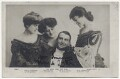 Miss G. Thornton as Lady Gwendoline; Miss Hammerton as The Hon. I.O. Ewe; Sir Henry Alfred Lytton as Dick Wargrave; Miss Ricards as Bertha Late in 'The Earl and the Girl', by Rotary Photographic Co Ltd - NPG Ax45857