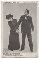 Sir Johnston Forbes-Robertson as Dick Heldar; Nina Boucicault as Bessie Broke in 'The Light That Failed', by Unknown photographer, for  Play Pictorial, published by  Raphael Tuck & Sons - NPG Ax45902