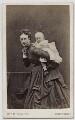 Queen Alexandra; Princess Louise, Duchess of Fife, by W. & D. Downey - NPG Ax46173
