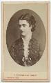 Georgina Elizabeth Ward (née Moncreiffe), Countess of Dudley, by London Stereoscopic & Photographic Company - NPG Ax46231