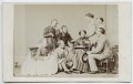 Family group including Hon. Georgina Louisa Mostyn, by Thomas Rodger - NPG Ax46293