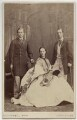 King Edward VII; Queen Alexandra; George I, King of Greece, by Southwell Brothers - NPG Ax47007