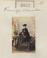 Caroline Susan Augusta Agar (née Barrington), Countess of Normanton, by Camille Silvy - NPG Ax53282