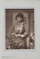 (Marion Margaret) Violet Manners (née Lindsay), Duchess of Rutland, by Herbert Rose Barraud, published by  Richard Bentley & Son - NPG Ax5427
