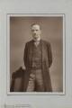 John Morley, 1st Viscount Morley of Blackburn, by Herbert Rose Barraud, published by  Richard Bentley & Son - NPG Ax5436