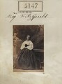 Miss Fitzgerald, by Camille Silvy - NPG Ax55150