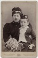 Princess Beatrice of Battenberg; Prince Maurice Victor Donald of Battenberg, by W. & D. Downey - NPG Ax5554
