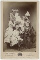 Frederick III, Emperor of Germany and King of Prussia with his family, by Hills & Saunders - NPG Ax5561