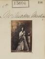Helen Faucit (Helena (née Faucit Saville), Lady Martin) as Parthenia in 'Ingomar', by Camille Silvy - NPG Ax63536