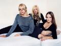 Samantha Bond; Holly Mcguire; Charlie O'Neale, by Polly Borland - NPG x88470