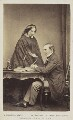Catherine Gladstone (née Glynne); William Ewart Gladstone, by William Walker & Sons - NPG Ax68087