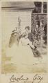 Victoria Alexandrina Elizabeth (née Grey) as a girl with her family, by (Cornelius) Jabez Hughes - NPG Ax68093
