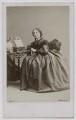 Harriet Beecher Stowe, by William Notman - NPG Ax7548