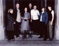 Sarah Dunn; Trevor Ray Hart; Tara Bonakdar; Harry Borden; Jake Walters; Wendy House; Kat Picton-Phillipps, by Simon James, by  Trevor Leighton - NPG x88494