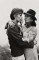 David Bowie; Dame Elizabeth Taylor, by Terry O'Neill - NPG x88495