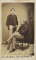 Francis Foljambe Anderson; Ernest Roland Wilberforce, by Unknown photographer - NPG Ax9600