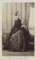 Louisa Augusta (née Harcourt), Lady Vanden-Bempde-Johnstone, by Unknown photographer - NPG Ax9736