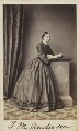 Frances Mary Wilberforce (née Anderson), by Unknown photographer - NPG Ax9740
