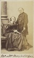 Mary Wilberforce (née Sargent); Henry William Wilberforce, by Unknown photographer - NPG Ax9937