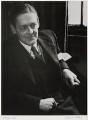 T.S. Eliot, by Felix H. Man (Hans Baumann) - NPG x1152