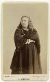 Charles Albert Fechter as Hamlet in 'Hamlet', by Napoleon Sarony - NPG x11885